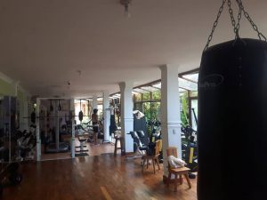Found the gym